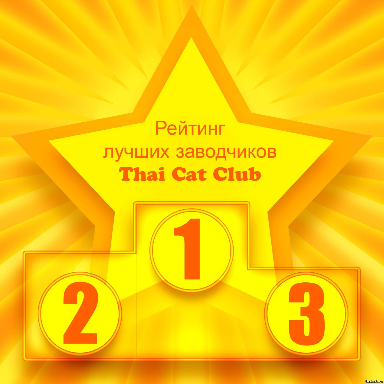 Рейтинг лучших заводчиков Thai Cat Club