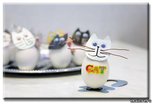 Котята на Пасху от Натали Тай