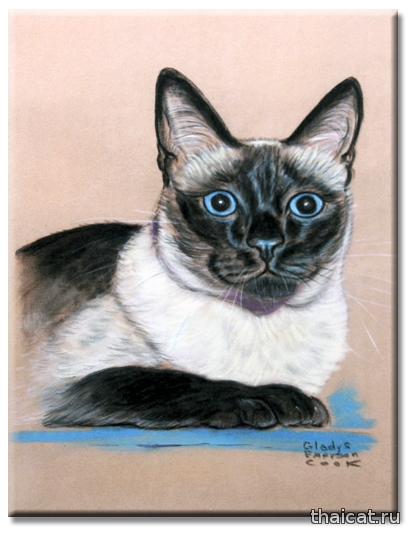 Гледис Эмерсон Кук. Сиамская кошка