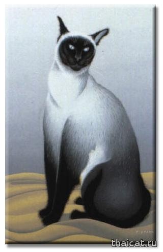 Фусса Итайя. Сиамская кошка / Foussa Itaya. Le chat siamois