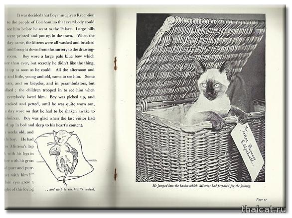 История Тимми, Сиамского котенка Принцессы Елизаветы