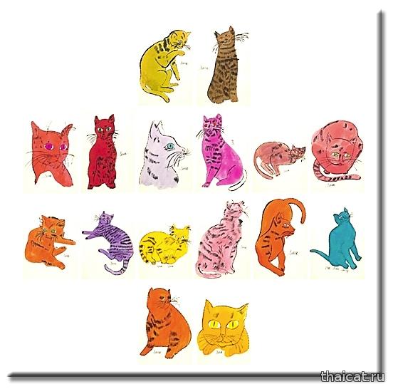 Энди Уорхол. 25 котов по имени Сэм и одна голубая кошка